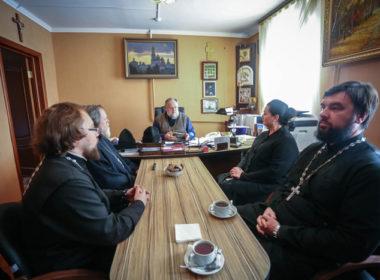 В семинарии обсудили подготовку к празднованию юбилея епархии