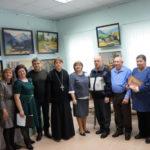 Открытие выставки «Музыка цвета» прошло при участии благочинного Донского округа