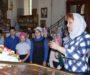 Экскурсия для школьников прошла в храме Александра Невского