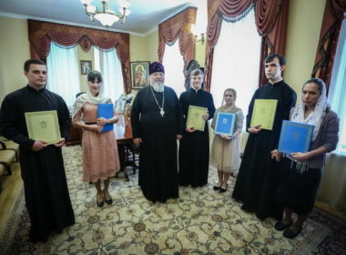Студенты семинарии получили архипастырское благословение на брак