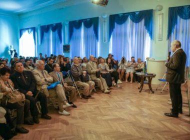 Клирик епархии принял участие в презентации документального проекта «Ставрополье. Кинолетопись»