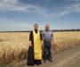 Селяне помолились перед началом жатвы