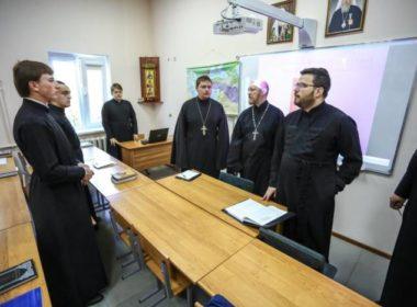 Инспекционная комиссия Учебного комитета посетила Ставропольскую духовную семинарию
