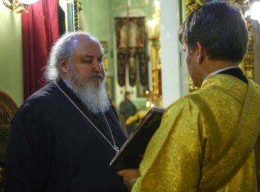 В канун Недели 21-й по Пятидесятнице правящий архиерей совершил всенощное бдение