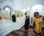 В канун Недели 24-й по Пятидесятнице правящий архиерей помолился за всенощным бдением во Владимирском соборе