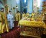В Неделю 28-ю по Пятидесятнице правящий архиерей совершил Литургию в храме преподобного Сергия Радонежского краевой столицы