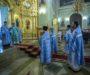 В праздник Сретения Господня митрополит Кирилл совершил Литургию в Казанском соборе
