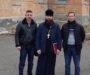 Продолжается подготовка к замене куполов храма Успения Пресвятой Богородицы с. Красногвардейское