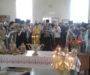 Колокола освятили для храма в станице Беломечетской
