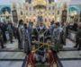 В среду Страстной седмицы правящий архиерей совершил Литургию в Андреевском соборе