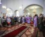 В четверг Страстной седмицы митрополит Кирилл совершил Литургию во Владимирском соборе
