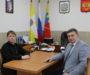 Благочинный Донского округа встретился с главой Труновского района