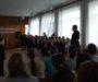 Священник принял участие в смотре юных казачат