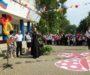 Священник посетил праздник последнего звонка в сельской школе