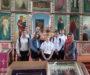 Школьники села Красногвардейского собрались на молитву перед началом экзаменов