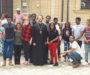 Студенты из Южной Африки посетили храм св. вмч. Артемия