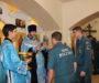 Сотрудники противопожарной службы МЧС собрались на молебен в день празднования иконы Божией Матери «Неопалимая Купина»