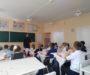 Клирик епархии провел беседу с учащимися начальной школы