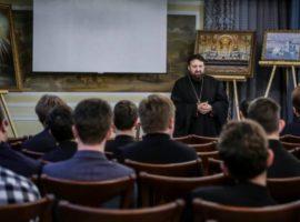 Руководитель информационного отдела Ростовской-на-Дону епархии встретился со студентами Ставропольской духовной семинарии