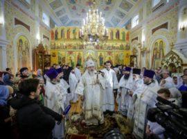Митрополит Кирилл совершил великое освящение храма Преображения Господня г.Ставрополя в день его 125-летнего юбилея