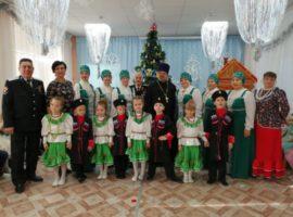 В детском саду Солнечнодольска прошел праздничные святочный утренник