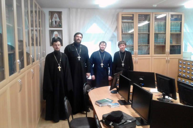 Заседание кафедры библеистики