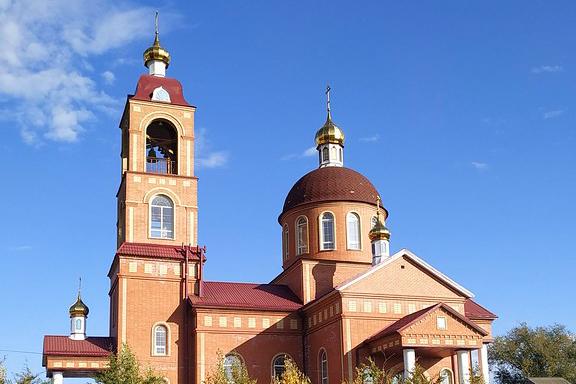 Храм Иверской иконы Божией Матери с. Грачевка