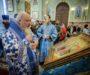 В праздник Сретения Господня митрополит Кирилл возглавил Литургию в Казанском соборе