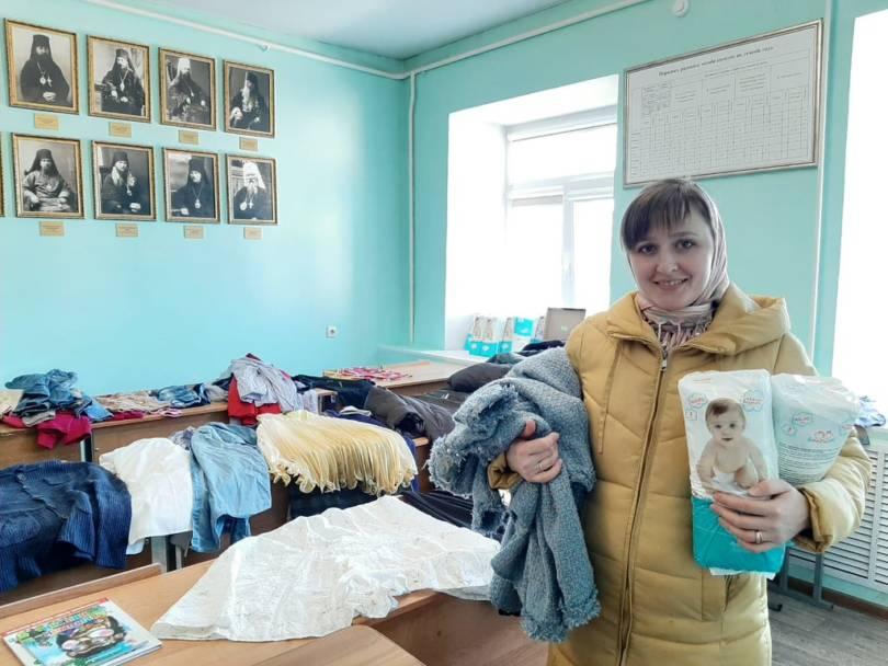 Союз православных женщин продолжает оказывать адресную помощь