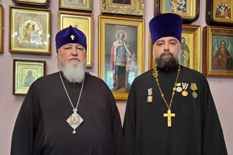 Митрополит Кирилл удостоил протоиерея Вячеслава Бочарова епархиальной медали