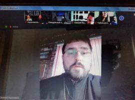 Руководитель епархиального отдела принял участие в международной онлайн-конференции