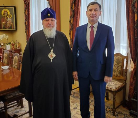 Митрополит Кирилл встретился с прокурором края