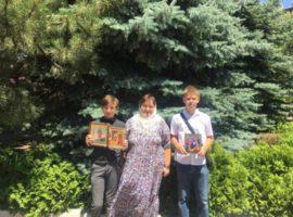 Летняя школа при храме св. вмч. Пантелеимона г. Ставрополя завершила свою работу