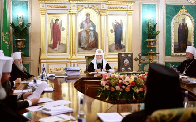 Послание Священного Синода епископату, клиру, монашествующим и мирянам в связи с нашедшим в этом году вредоносным поветрием