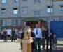 Священник благословил новобранцев на военную службу