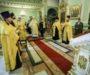 Митрополит Кирилл совершил всенощное бдение в Андреевском соборе