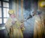 Митрополит Кирилл совершил Божественную литургию в Андреевском соборе