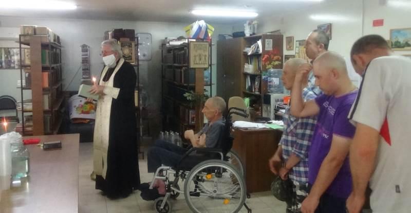 Подопечные психоневрологического интерната получили духовное окормление от священника