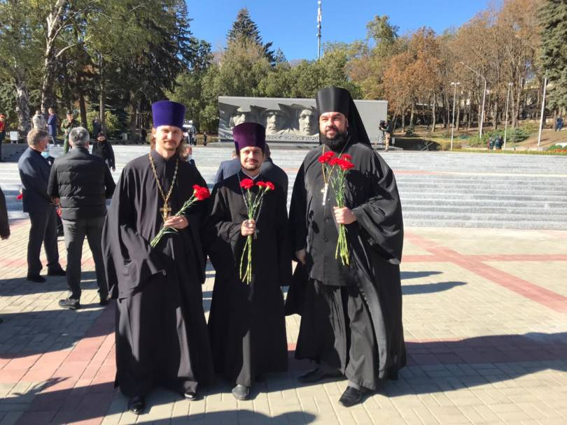 Преподаватели семинарии приняли участие в мероприятии, посвященном годовщине битвы за Кавказ