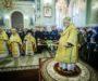 В годовщину архиерейской хиротонии митрополит Кирилл возглавил Литургию в Казанском соборе