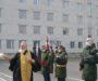 Клирик епархии благословил новобранцев на военную службу