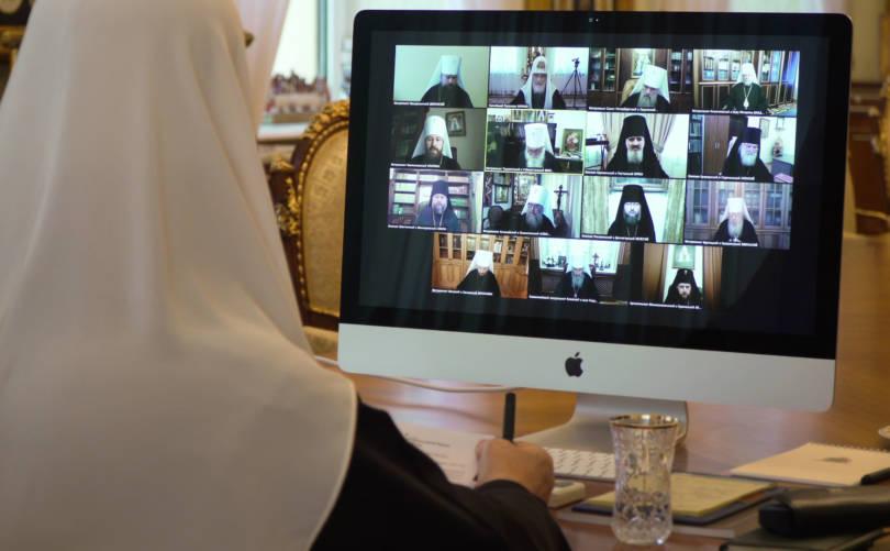 Состоялось последнее в уходящем году заседание Священного Синода Русской Православной Церкви