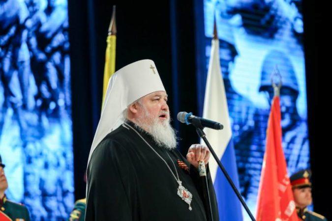 Митрополит Кирилл поздравил военнослужащих края с Днем защитника Отечества