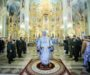 В Неделю о мытаре и фарисее митрополит Кирилл совершил Литургию в Казанском соборе