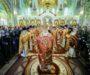 Митрополит Кирилл возглавил Литургию во Владимирском соборе
