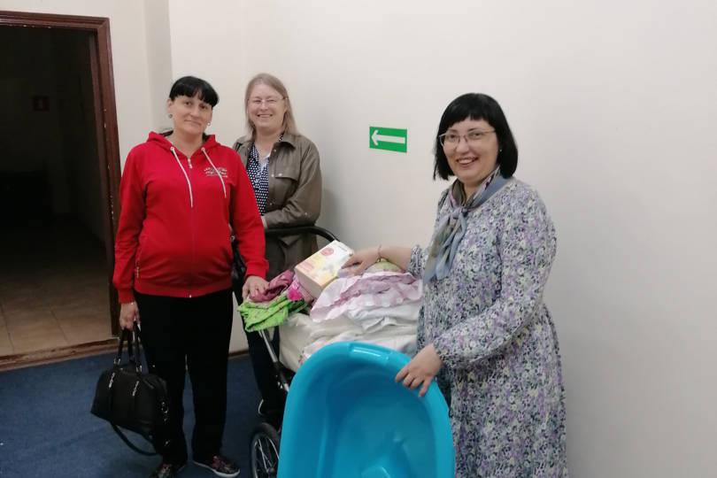 На Светлой седмице 60 человек получили помощь от Союза православных женщин