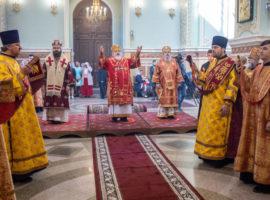 В день памяти святителя Игнатия Брянчанинова в Казанском соборе совершена Божественная литургия