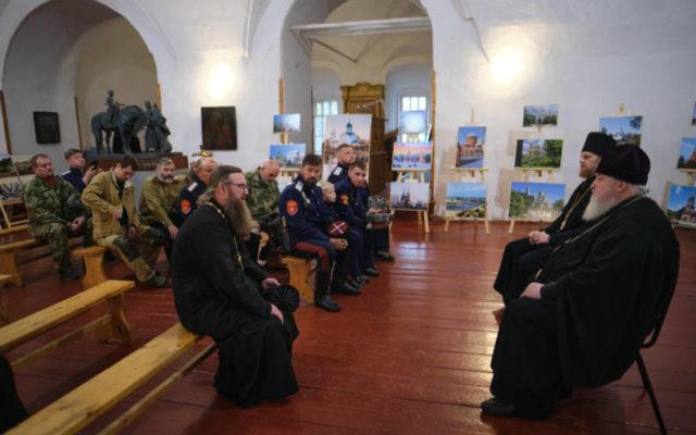 Митрополит Кирилл встретился с казачеством Переяславля-Залесского