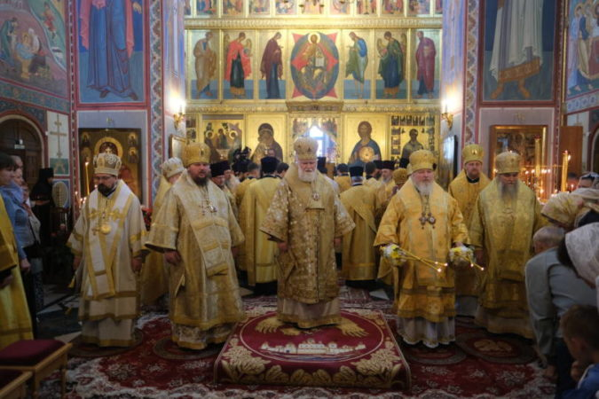 Митрополит Кирилл принял участие в праздновании 800-летия со дня рождения благоверного князя Александра Невского