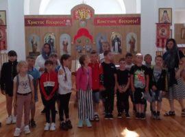 Школьники узнали об истории сельского храма
